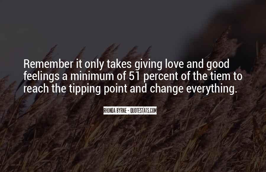 Quotes About Tipping #1155356