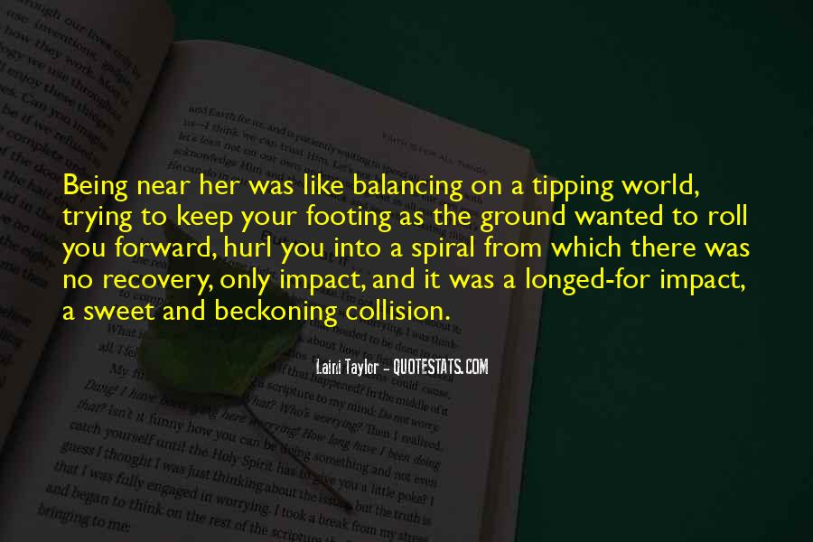 Quotes About Tipping #310251