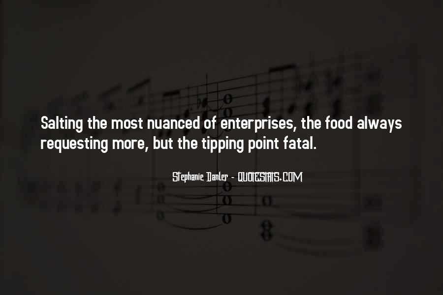 Quotes About Tipping #607462
