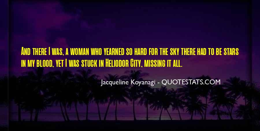Quotes About Missing A City #1217204