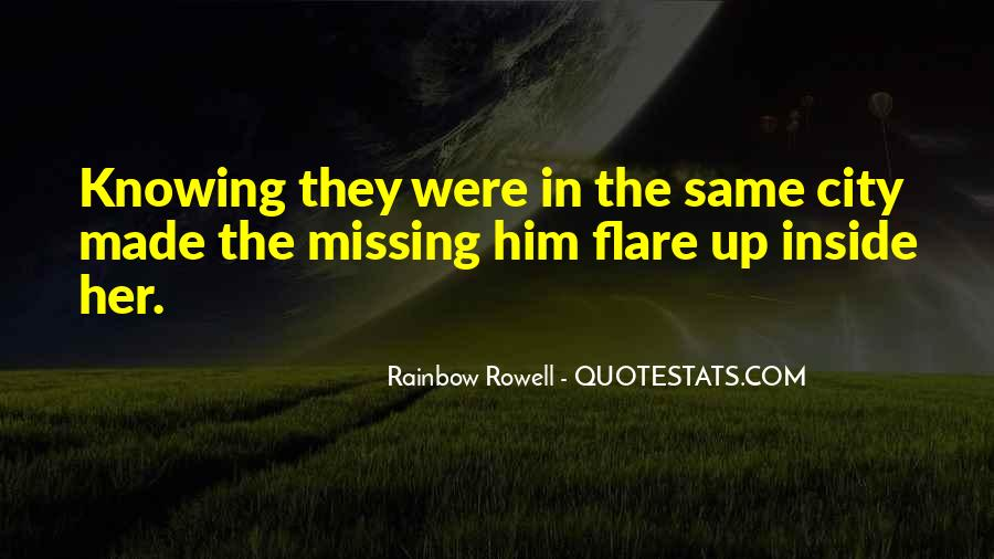 Quotes About Missing A City #1356908