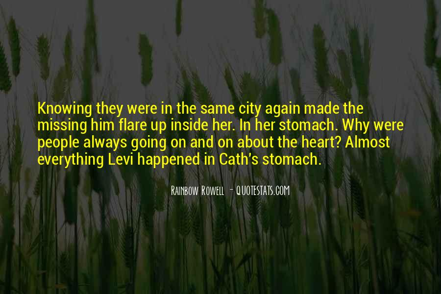 Quotes About Missing A City #1561638