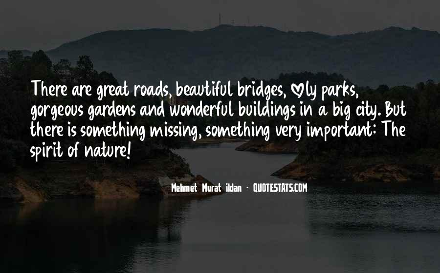 Quotes About Missing A City #1832867