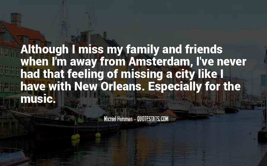 Quotes About Missing A City #9345