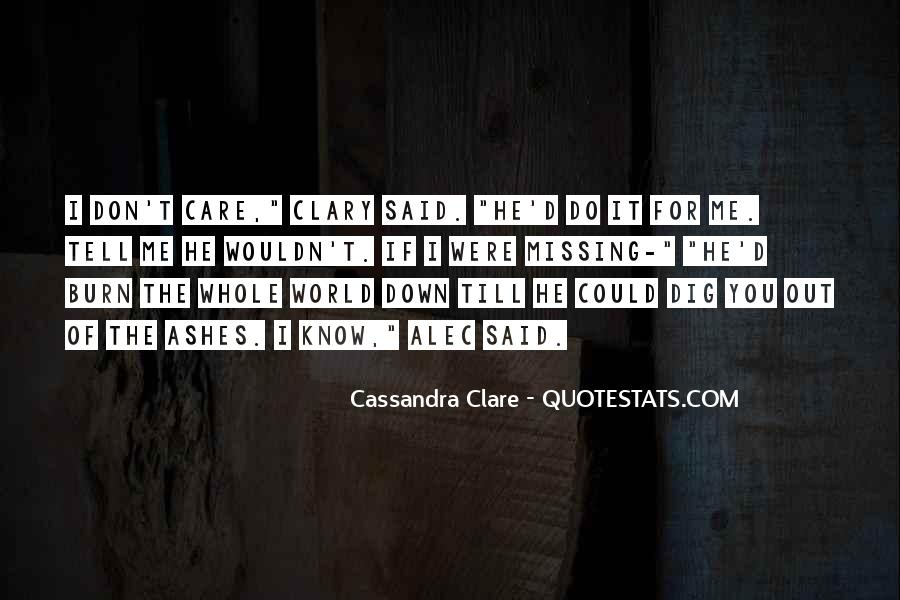 Quotes About Missing A City #975021