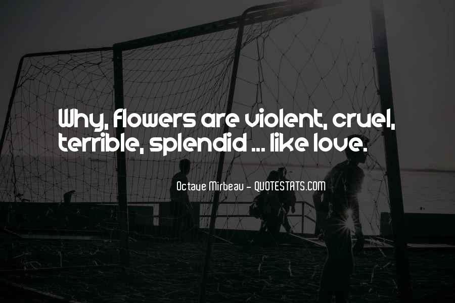 Quotes About Violent Love #1022983