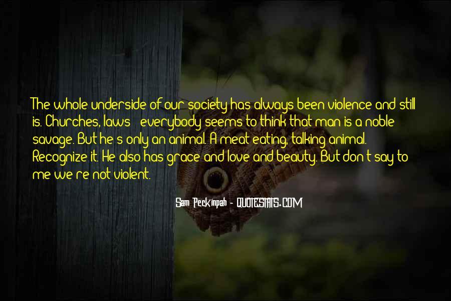 Quotes About Violent Love #1187970
