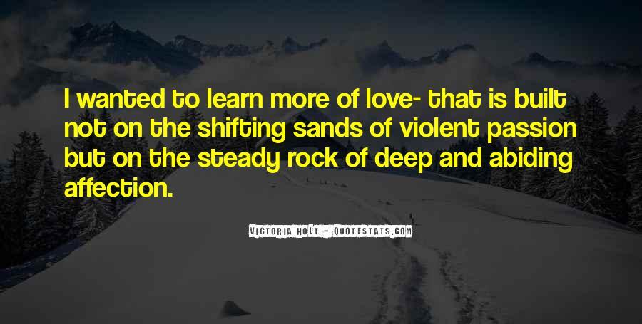 Quotes About Violent Love #1201180