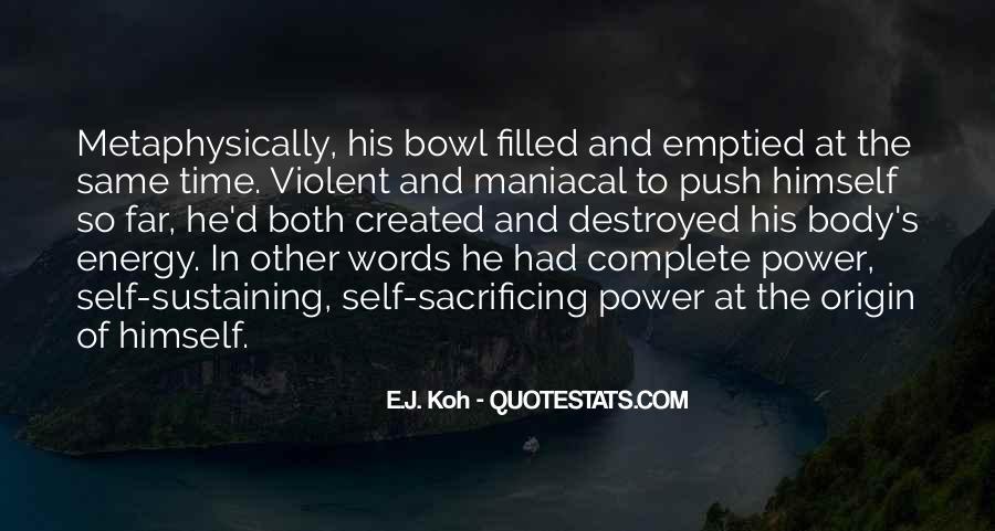 Quotes About Violent Love #121203