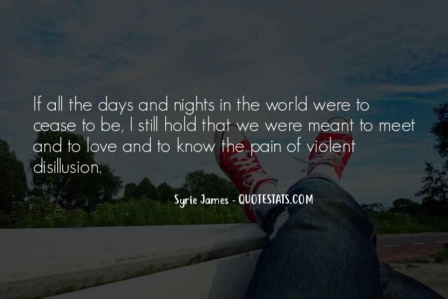 Quotes About Violent Love #1403151