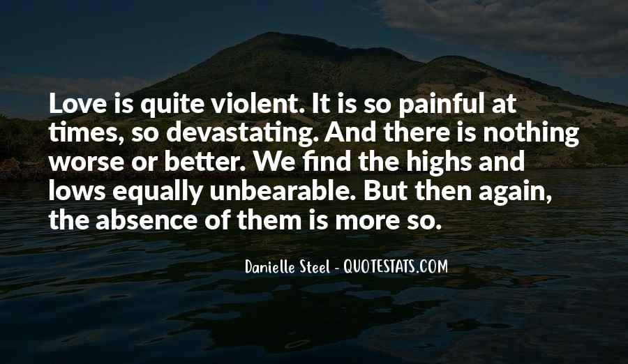 Quotes About Violent Love #1474907