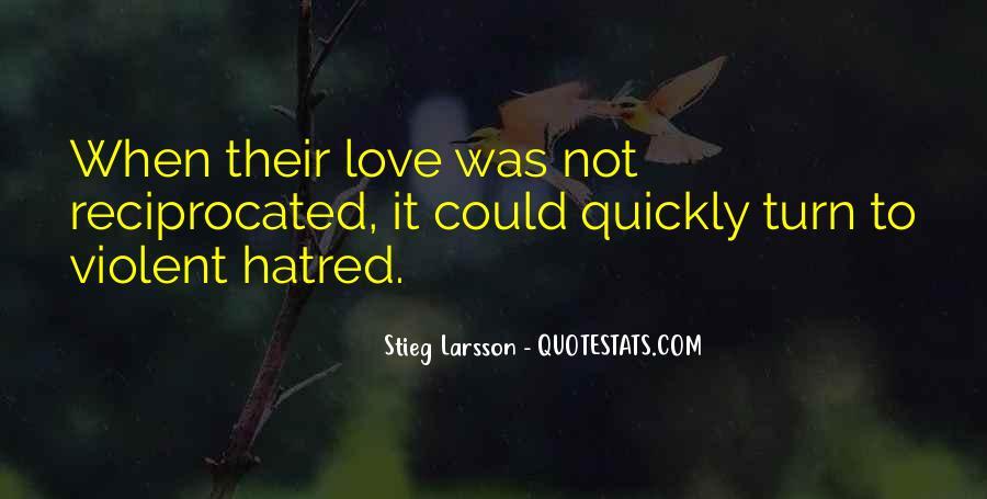 Quotes About Violent Love #1637540