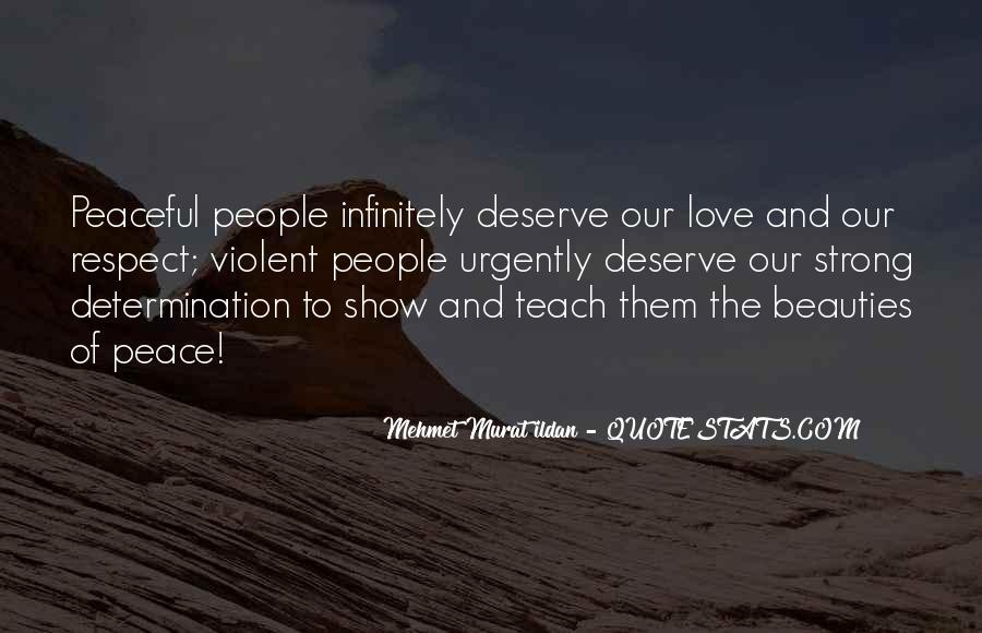 Quotes About Violent Love #164467