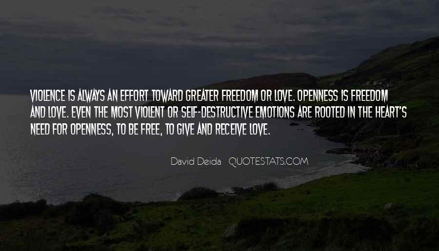 Quotes About Violent Love #1765365