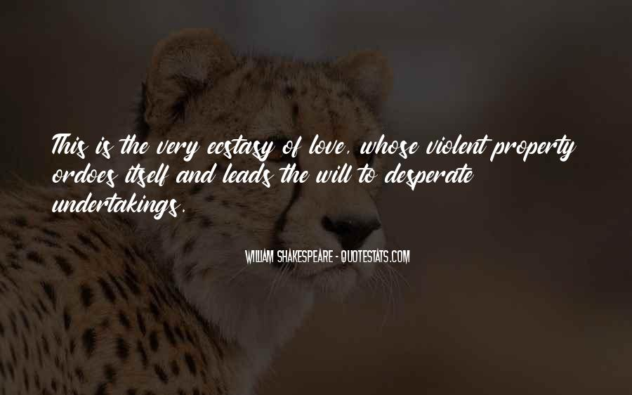 Quotes About Violent Love #1767099