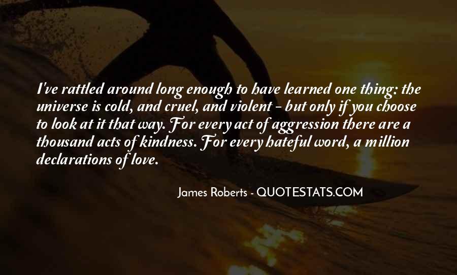 Quotes About Violent Love #1815741