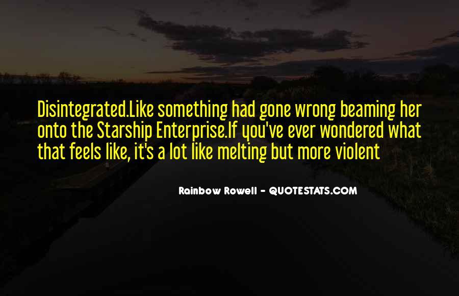 Quotes About Violent Love #27590