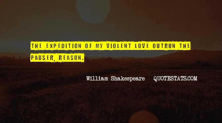 Quotes About Violent Love #459334