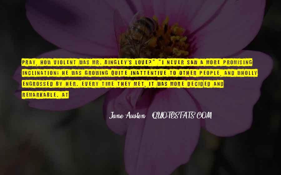 Quotes About Violent Love #797268
