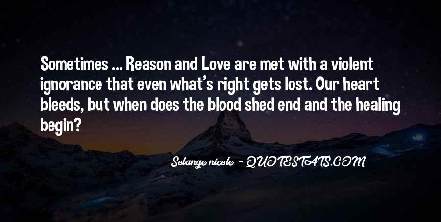 Quotes About Violent Love #864969