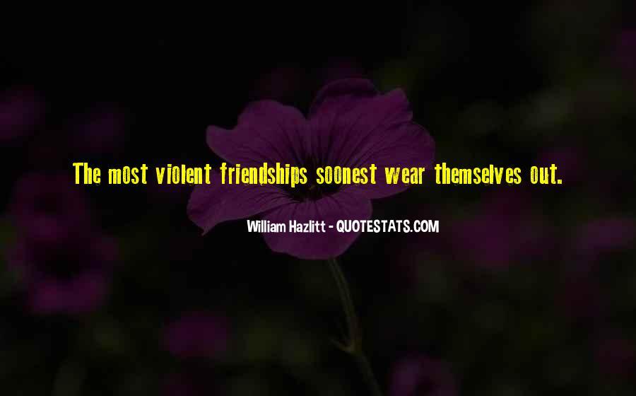 Quotes About Violent Love #920866