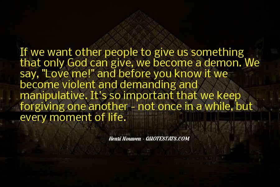 Quotes About Violent Love #960018