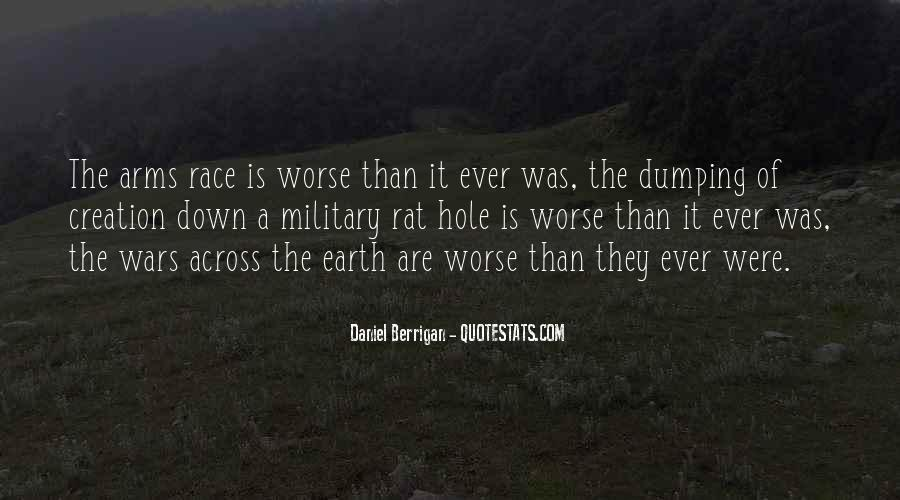 Quotes About Arms Race #1045212
