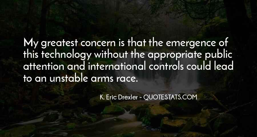 Quotes About Arms Race #1462874