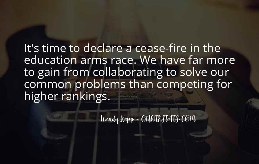 Quotes About Arms Race #259318