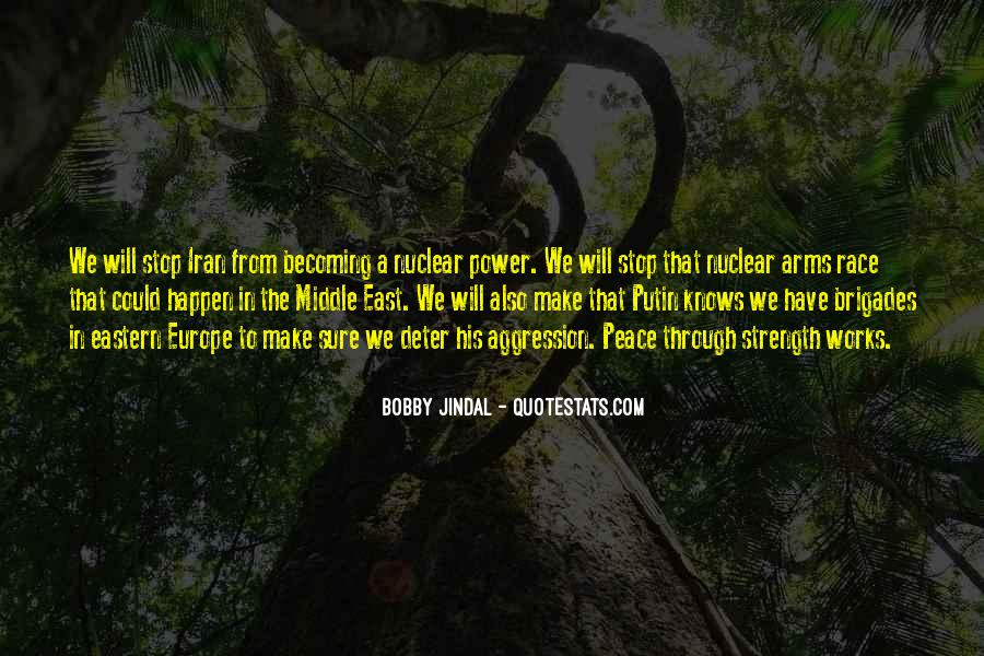 Quotes About Arms Race #722883