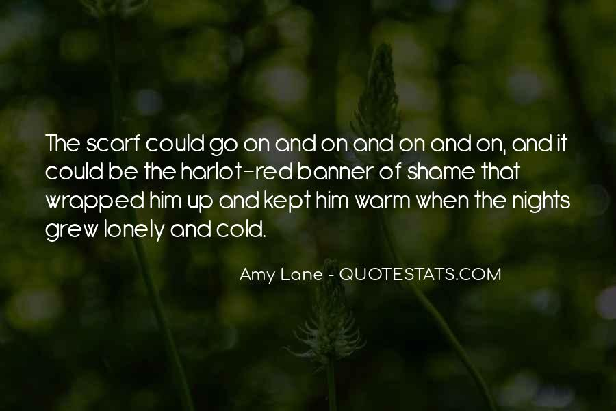 Quotes About Lonely Nights #1118299