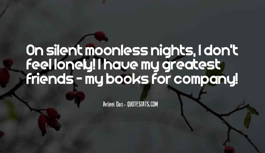 Quotes About Lonely Nights #1717285