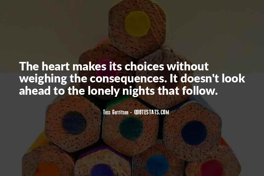 Quotes About Lonely Nights #1777085