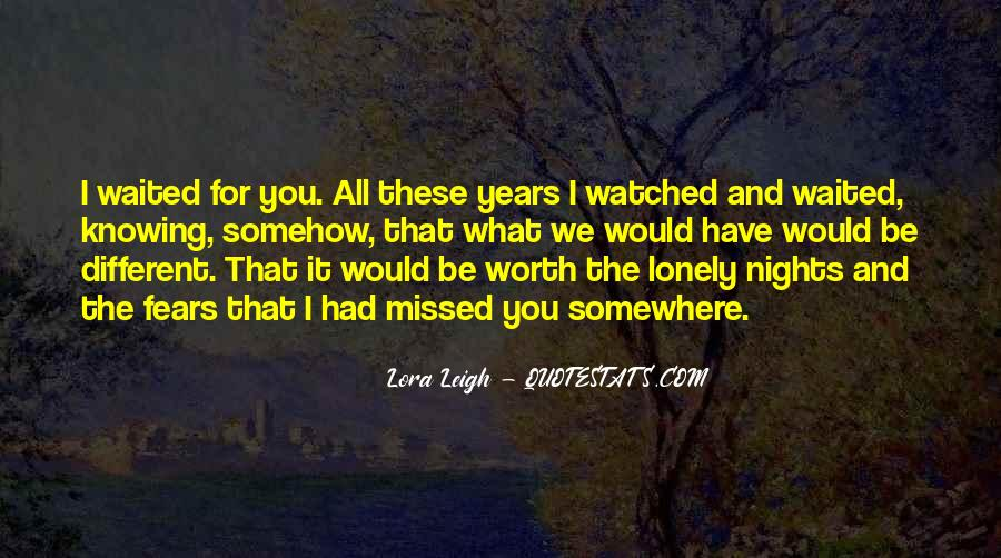 Quotes About Lonely Nights #446582