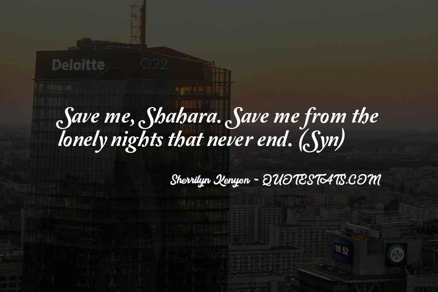 Quotes About Lonely Nights #901451