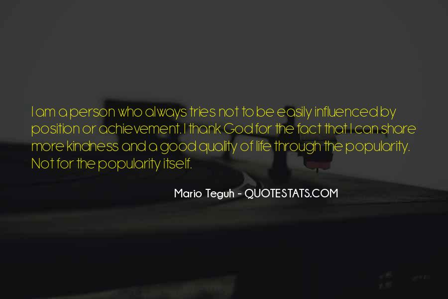 Quotes About Life Mario Teguh #745949