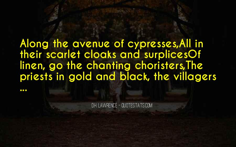 Quotes About Choristers #38772