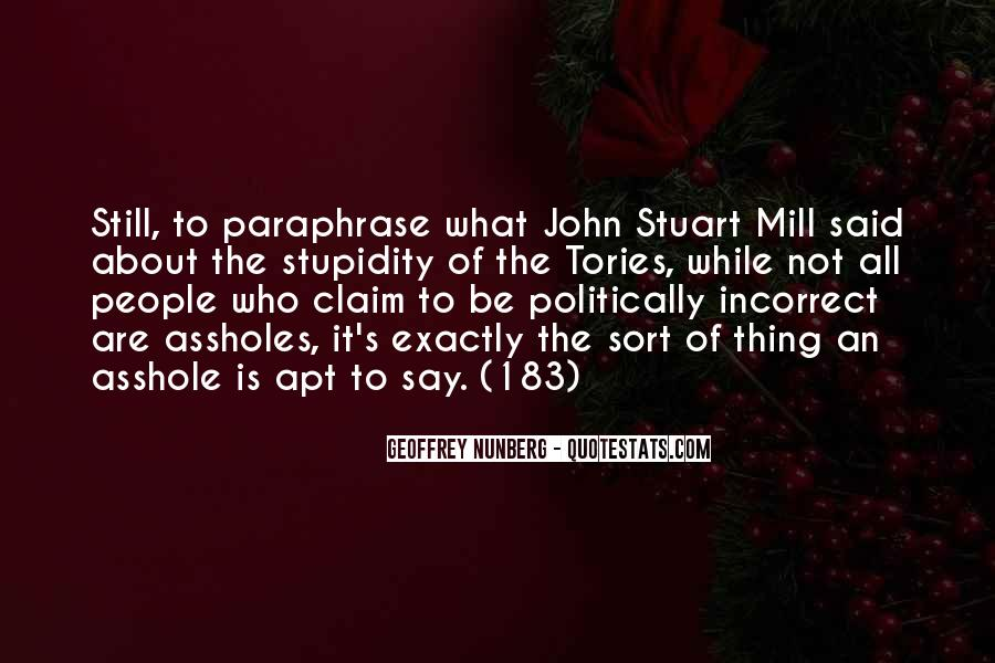 Quotes About Politically Incorrect #1168939