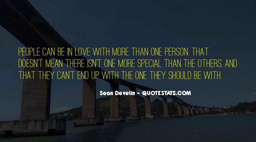 Quotes About More Than One Love #317080