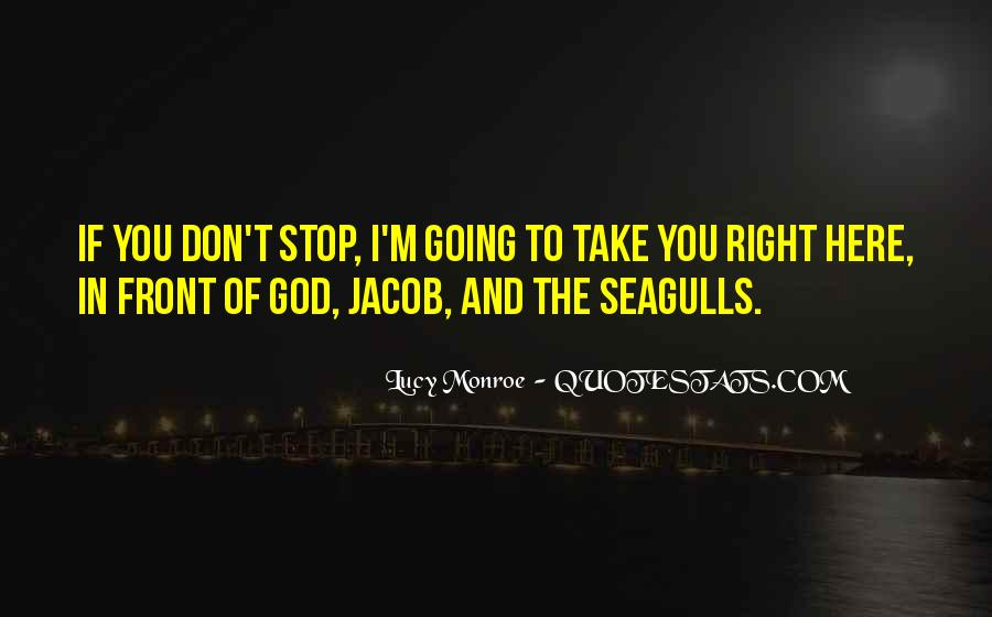 Quotes About Seagulls #1764644