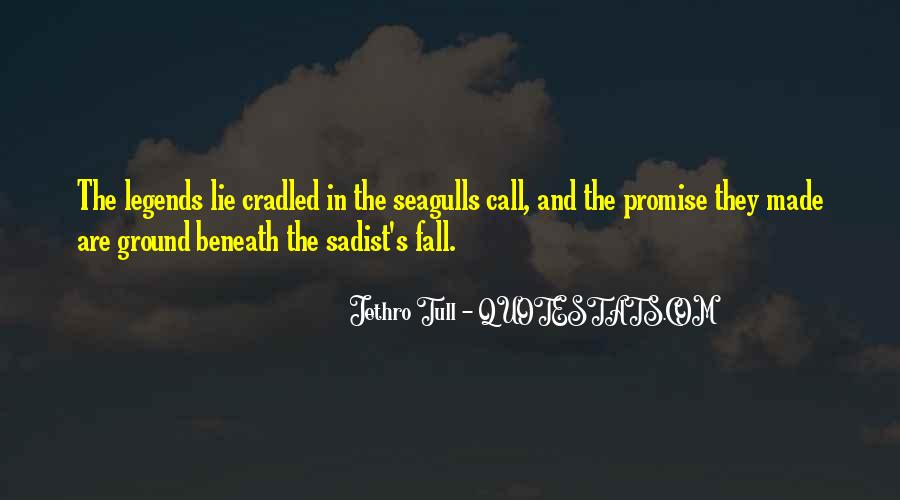 Quotes About Seagulls #577554