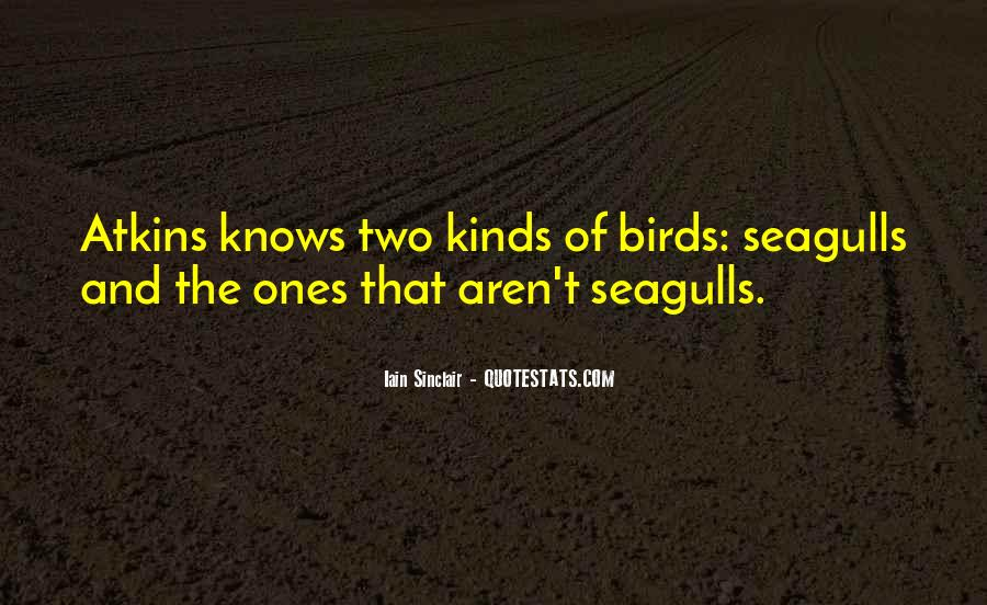 Quotes About Seagulls #863586