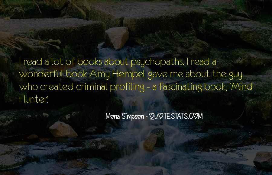 Quotes About The Mind Of A Criminal #1184597