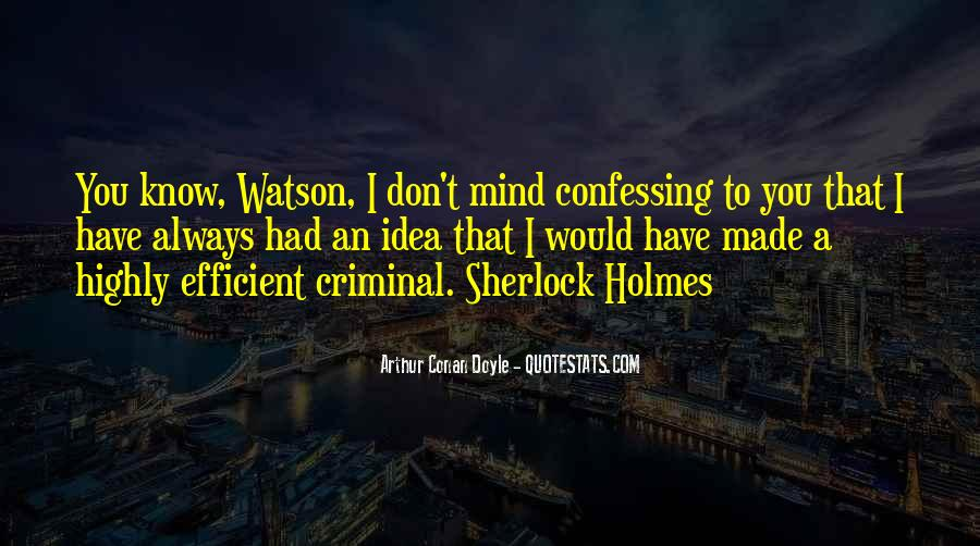 Quotes About The Mind Of A Criminal #1364571