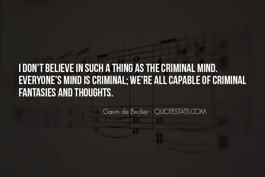 Quotes About The Mind Of A Criminal #1482018