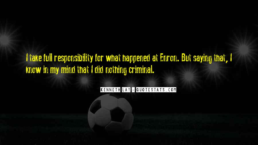 Quotes About The Mind Of A Criminal #1554279