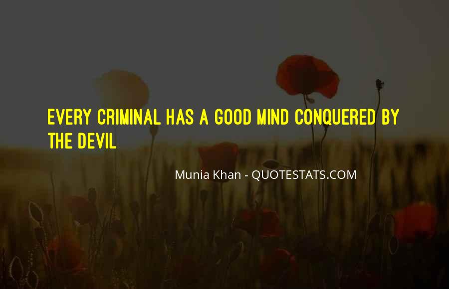 Quotes About The Mind Of A Criminal #1614613