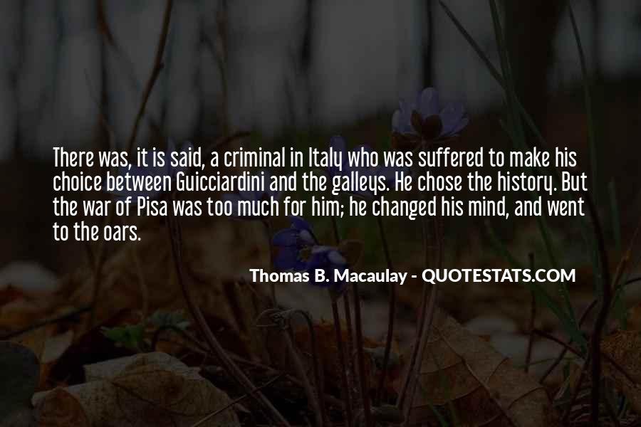 Quotes About The Mind Of A Criminal #1797306