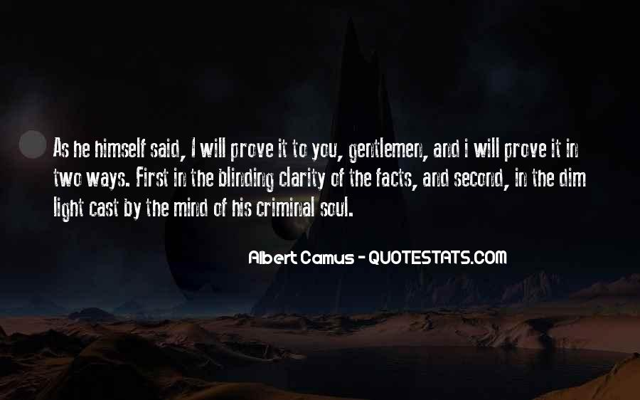 Quotes About The Mind Of A Criminal #424658