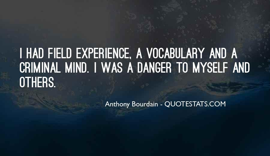 Quotes About The Mind Of A Criminal #81008